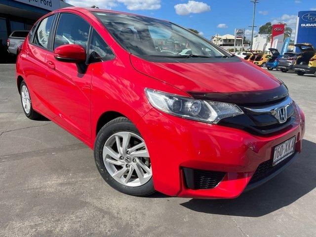 Used Honda Jazz GF MY17 VTi Gympie, 2017 Honda Jazz GF MY17 VTi Red 1 Speed Constant Variable Hatchback