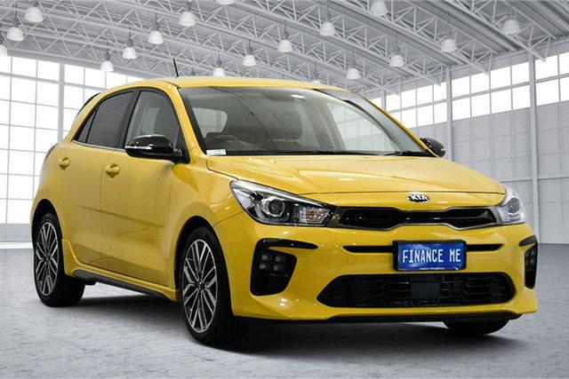 Used Kia Rio YB MY19 GT-Line DCT Victoria Park, 2019 Kia Rio YB MY19 GT-Line DCT Yellow 7 Speed Sports Automatic Dual Clutch Hatchback