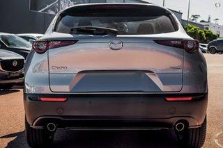 2021 Mazda CX-30 DM2W7A G20 SKYACTIV-Drive Evolve Silver 6 Speed Sports Automatic Wagon.