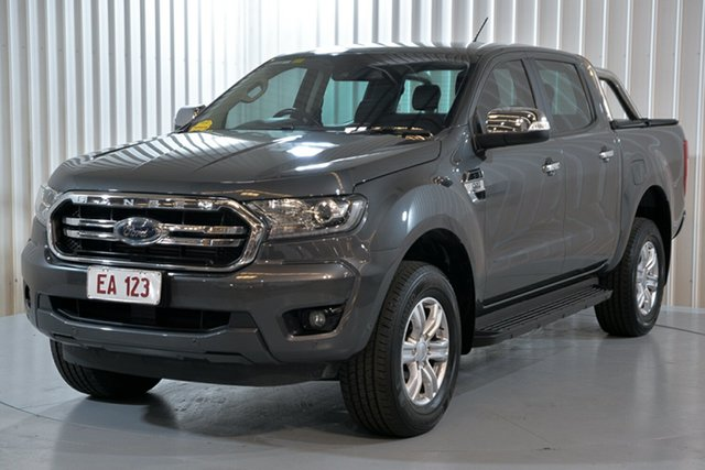 Used Ford Ranger PX MkIII 2019.00MY XLT Hendra, 2018 Ford Ranger PX MkIII 2019.00MY XLT Grey 6 Speed Sports Automatic Utility