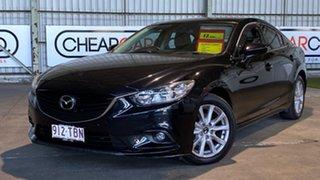 2012 Mazda 6 GJ1031 Touring SKYACTIV-Drive Black 6 Speed Sports Automatic Sedan.