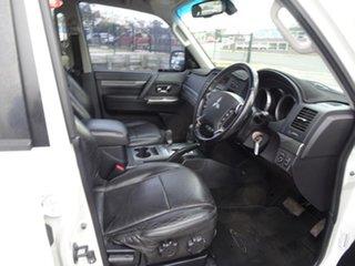 2012 Mitsubishi Pajero NW MY12 Platinum White 5 Speed Automatic Wagon