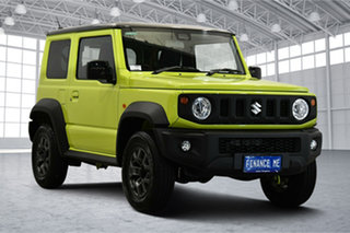 2021 Suzuki Jimny JB74 GLX Yellow 4 Speed Automatic Hardtop.