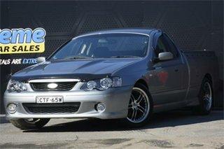 2003 Ford Falcon BA XR8 Ute Super Cab Grey 4 Speed Sports Automatic Utility.