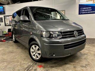 2010 Volkswagen Multivan T5 MY10 Comfortline DSG Metallic Grey 7 Speed Sports Automatic Dual Clutch.
