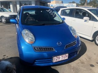 2010 Nissan Micra K12 Blue Automatic Hatchback