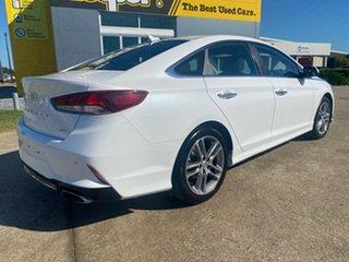 2019 Hyundai Sonata LF4 MY19 Active White/150419 6 Speed Sports Automatic Sedan.