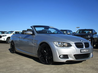 2008 BMW 3 Series E93 MY08 325i Steptronic Silver 6 Speed Sports Automatic Convertible.