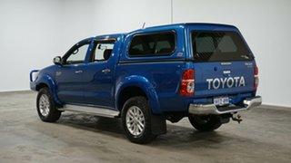 2015 Toyota Hilux KUN26R MY14 SR5 Double Cab Blue 5 Speed Manual Utility.