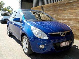2010 Hyundai i20 PB Elite Blue 4 Speed Automatic Hatchback.