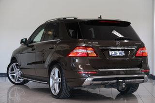 2012 Mercedes-Benz M-Class W166 ML350 BlueTEC 7G-Tronic + Citrine Brown 7 Speed Sports Automatic.