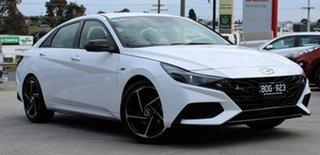 2021 Hyundai i30 CN7.V1 MY21 N Line D-CT Special Edition Polar White 7 Speed.
