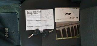 2015 Jeep Patriot MK MY15 Sport 4x2 White 6 Speed Sports Automatic Wagon
