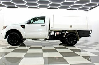 2013 Ford Ranger PX XL 2.2 Hi-Rider (4x2) White 6 Speed Manual Cab Chassis