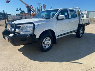 2016 Holden Colorado RG MY16 LS Crew Cab White 6 Speed Sports Automatic Cab Chassis