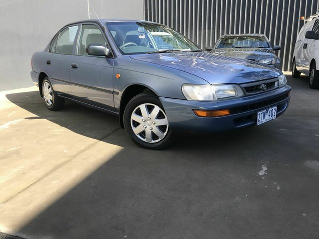 Used Toyota Corolla Fawkner, 1998 Toyota Corolla Blue Auto Active Select Sedan