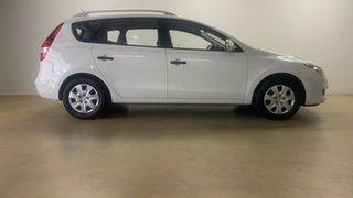 2011 Hyundai i30 FD MY11 CW SX 1.6 CRDi White 4 Speed Automatic Wagon.