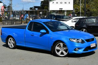 2011 Ford Falcon FG Upgrade XR6T Blue 6 Speed Manual Utility.