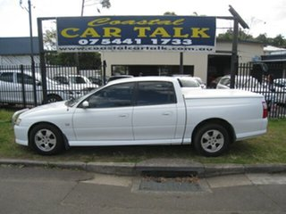 2006 Holden Crewman VZ S White 4 Speed Automatic Crew Cab Utility.