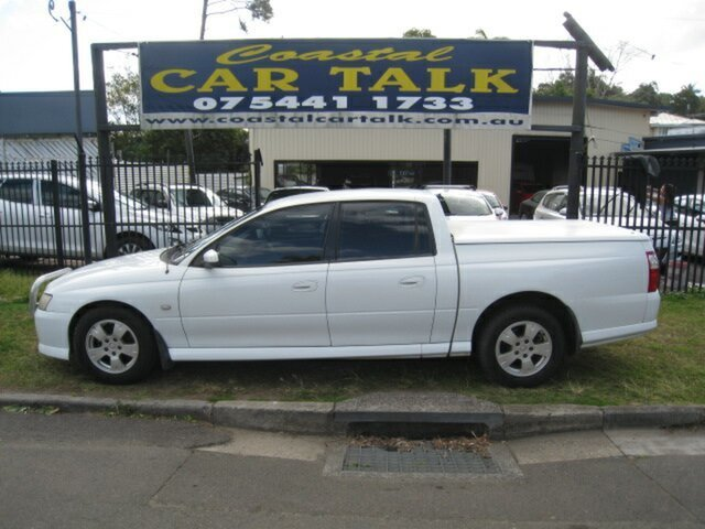 Used Holden Crewman VZ S Nambour, 2006 Holden Crewman VZ S White 4 Speed Automatic Crew Cab Utility