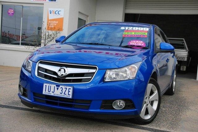 Used Holden Cruze JG CDX Wendouree, 2010 Holden Cruze JG CDX Blue 6 Speed Automatic Sedan