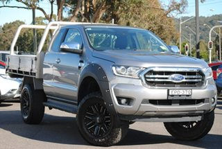 2018 Ford Ranger PX MkIII 2019.00MY XLT Silver 6 Speed Sports Automatic Utility.