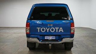 2015 Toyota Hilux KUN26R MY14 SR5 Double Cab Blue 5 Speed Manual Utility