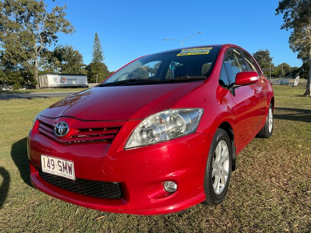 Used Toyota Corolla ZRE152R MY11 Ascent Sport Clontarf, 2012 Toyota Corolla ZRE152R MY11 Ascent Sport Maroon 4 Speed Automatic Hatchback
