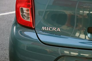 2016 Nissan Micra K13 Series 4 MY15 ST Blue 4 Speed Automatic Hatchback.