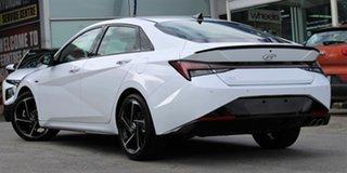 2021 Hyundai i30 CN7.V1 MY21 N Line D-CT Premium Polar White 7 Speed Sports Automatic Dual Clutch.