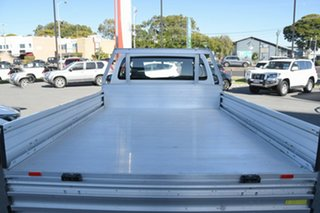 2018 Toyota Hilux TGN121R Workmate 4x2 White 5 Speed Manual Cab Chassis