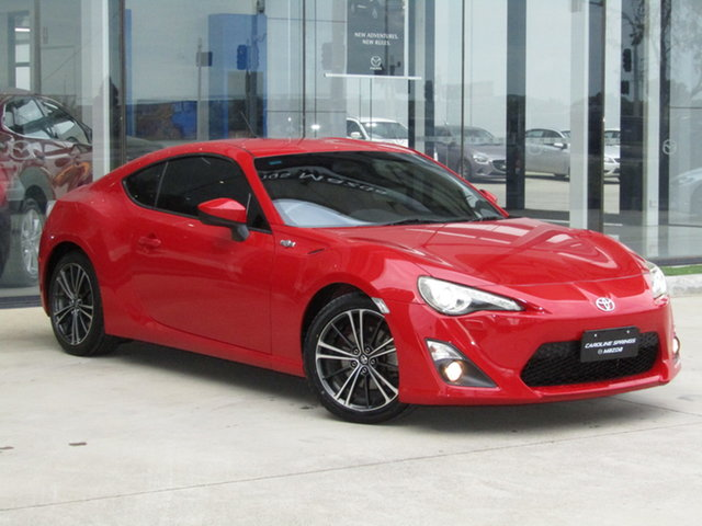 Used Toyota 86 ZN6 GTS Ravenhall, 2012 Toyota 86 ZN6 GTS Red 6 Speed Manual Coupe