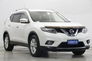 2014 Nissan X-Trail T32 ST-L X-tronic 4WD White 7 Speed Constant Variable Wagon