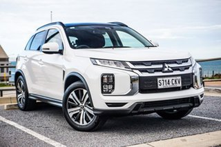 2019 Mitsubishi ASX XD MY20 Exceed 2WD White 1 Speed Constant Variable Wagon.