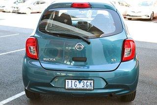 2016 Nissan Micra K13 Series 4 MY15 ST Blue 4 Speed Automatic Hatchback