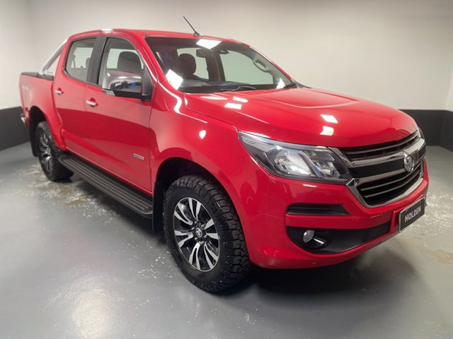 Used Holden Colorado RG MY18 LTZ Pickup Crew Cab Cardiff, 2018 Holden Colorado RG MY18 LTZ Pickup Crew Cab Red 6 Speed Sports Automatic Utility