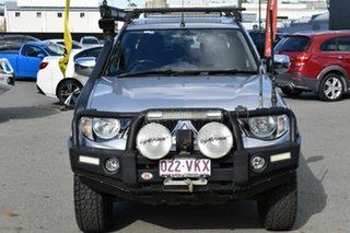 2014 Mitsubishi Triton MN MY15 GLX-R (4x4) Silver 5 Speed Automatic 4x4 Double Cab Utility.