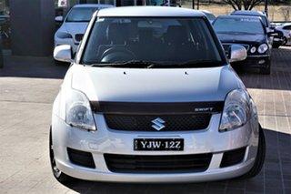 2009 Suzuki Swift RS415 Silver 5 Speed Manual Hatchback.