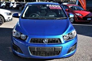 2011 Holden Barina TM Blue 5 Speed Manual Hatchback.