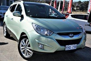 2011 Hyundai ix35 LM MY11 Highlander AWD Green 6 Speed Sports Automatic Wagon.