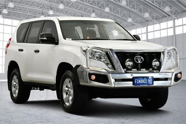 Used Toyota Landcruiser Prado KDJ150R MY14 GX Victoria Park, 2014 Toyota Landcruiser Prado KDJ150R MY14 GX White 5 Speed Sports Automatic Wagon