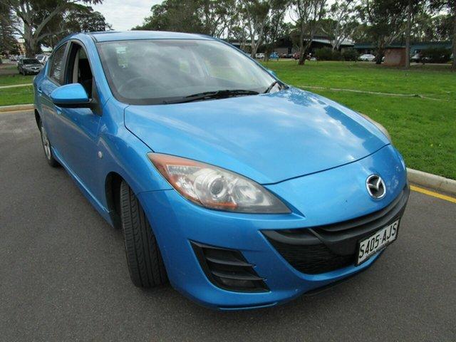 Used Mazda 3 BL 10 Upgrade Maxx Glenelg, 2010 Mazda 3 BL 10 Upgrade Maxx Blue 5 Speed Automatic Sedan