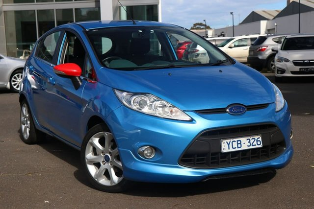 Used Ford Fiesta WS Zetec South Melbourne, 2010 Ford Fiesta WS Zetec Vision 5 Speed Manual Hatchback