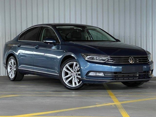 Used Volkswagen Passat 3C (B8) MY16 140TDI DSG Highline Moorabbin, 2015 Volkswagen Passat 3C (B8) MY16 140TDI DSG Highline Blue 6 Speed Sports Automatic Dual Clutch