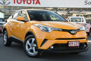 2019 Toyota C-HR NGX10R S-CVT 2WD Hornet Yellow 7 Speed Constant Variable Wagon.