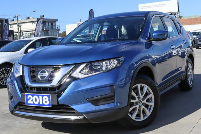 Used Nissan X-Trail T32 Series II ST X-tronic 2WD Coburg North, 2018 Nissan X-Trail T32 Series II ST X-tronic 2WD Blue 7 Speed Constant Variable Wagon