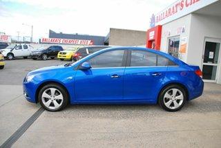 2010 Holden Cruze JG CDX Blue 6 Speed Automatic Sedan
