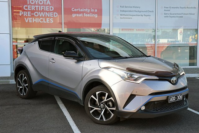 Pre-Owned Toyota C-HR NGX10R Koba S-CVT 2WD South Morang, 2017 Toyota C-HR NGX10R Koba S-CVT 2WD Silver 7 Speed Constant Variable Wagon