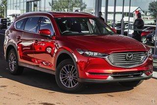 2021 Mazda CX-8 KG2WLA Sport SKYACTIV-Drive FWD Red 6 Speed Sports Automatic Wagon.