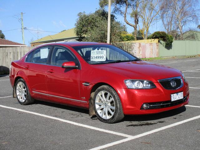 Used Holden Calais VE II Timboon, Holden Calais VE II . Red Auto Seq Sportshift Sedan